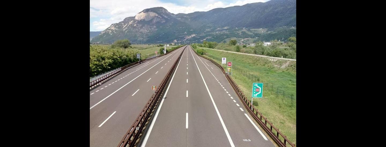 Autobahn Coronakrise