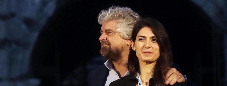 Beppe Grillo & Virginia Raggi
