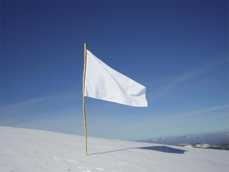 Weiße Fahne