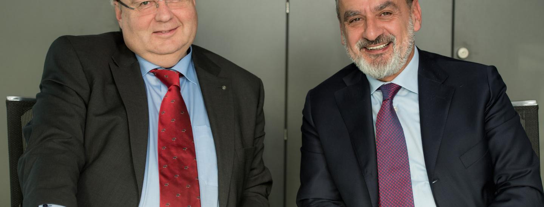 SEV-Präsident Hanspeter Fuchs & SEV-Direktor Rudi Rienzner (von links nach rechts)