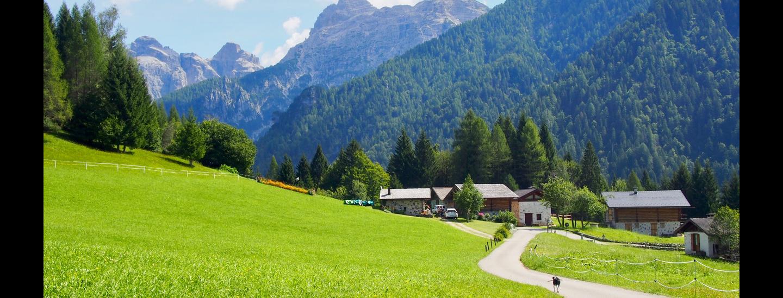 Blick in das Tal Val Giasinozza