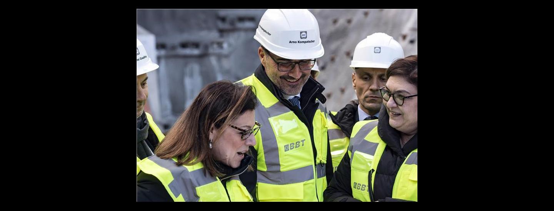 Bbt, tunnel, Brennero, De Micheli, Kompatscher