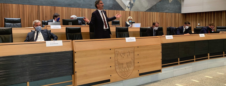 Landtagssitzung Mai 2020