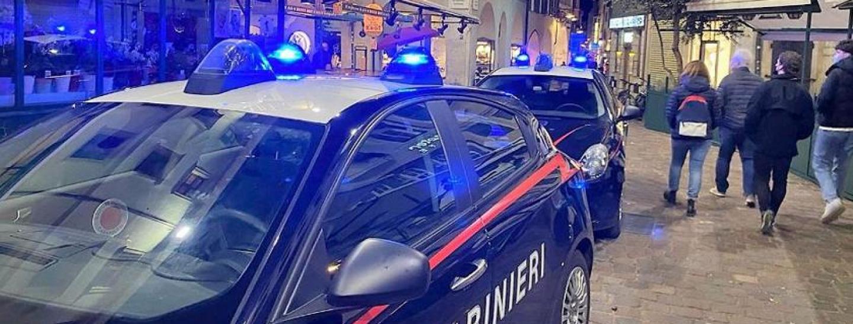 Piazza erbe, carabinieri, movida
