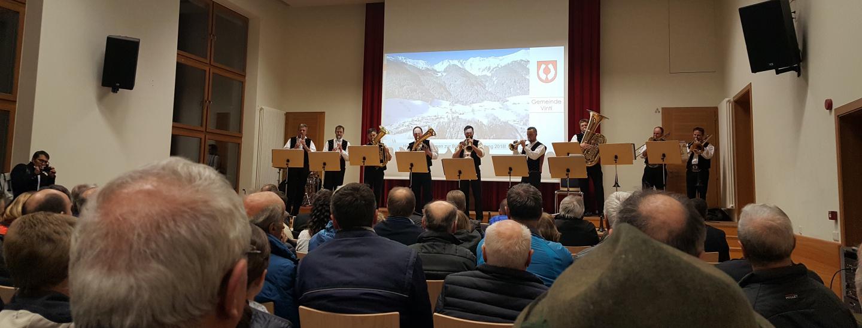 Bürgerversammlung Pfunders, 12.03.2018