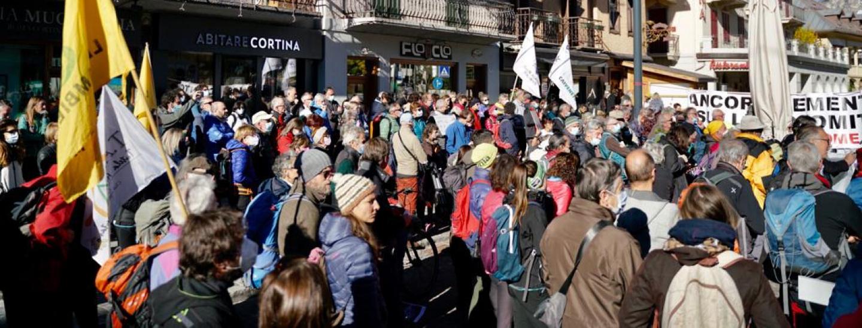 Manifestazione Cortina