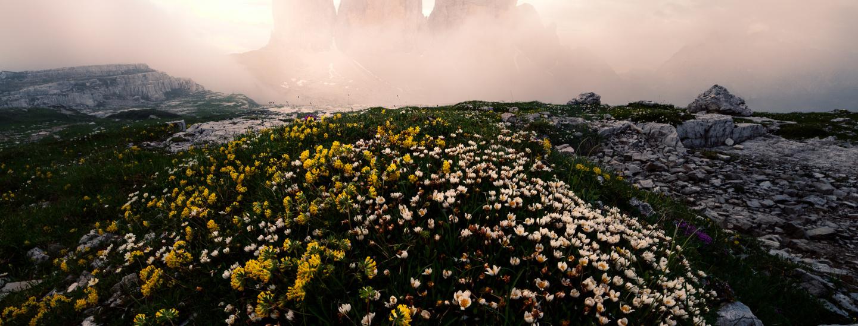 Tre Cime Revealed: Winner, 31 Memorial Maria Luisa, Mountain Landscape; Honorable Mention, International Photography Awards (IPA), Landscape-Fine Art, Professional. 2019; Honorable mention, Chromatic Awards 2019