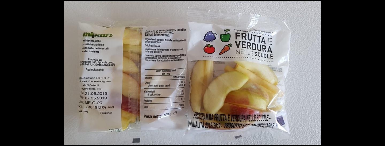 Apfel Plastik
