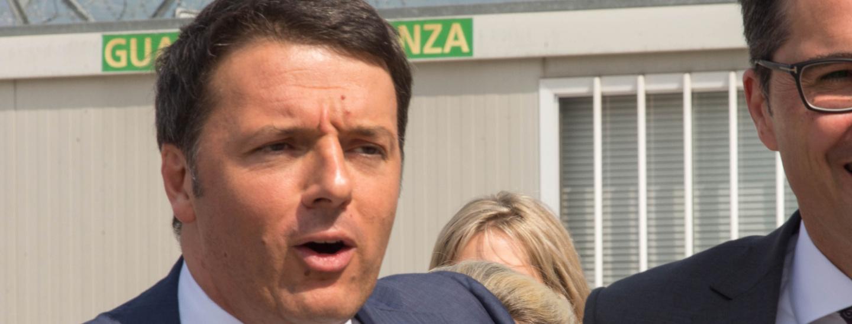 Matteo Renzi in Bozen