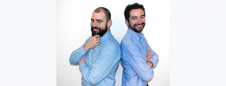 Stefano Masetti e Stefano Frizzera della cooperativa Abc Project