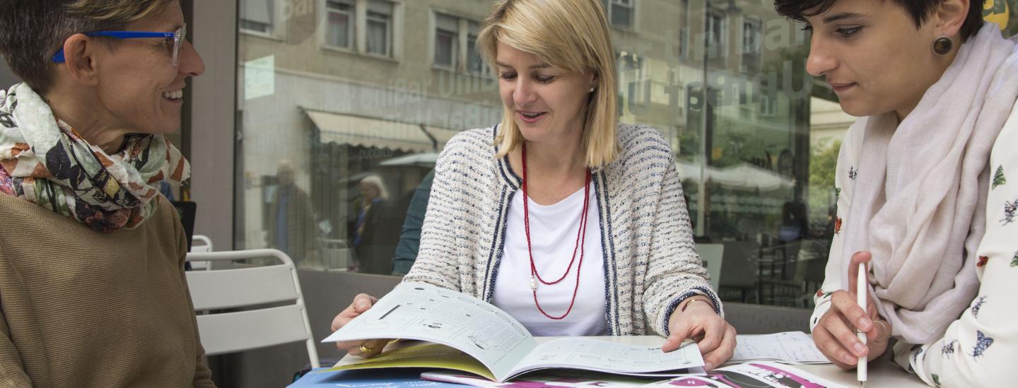 Interview mit Vicky Rabensteiner und Sigrid Hechensteiner