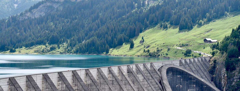 Sauberer Strom Aus Wasserkraft Salto Bz