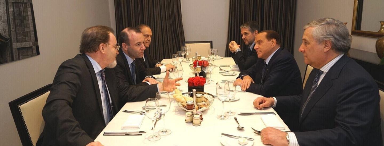 Manfred Weber, Silvio Berlusconi