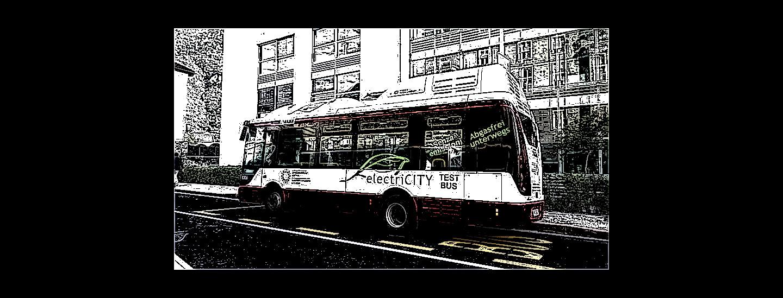 Autobus elettrico in prova di Sasa (2016)