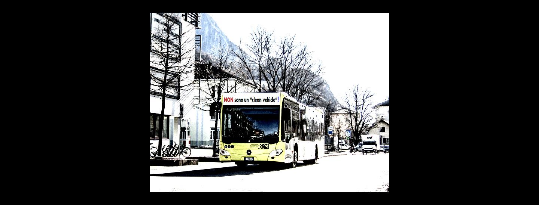 """Bus ibridi-gasolio di Sasa, non sono """"clean vehicle""""!"""