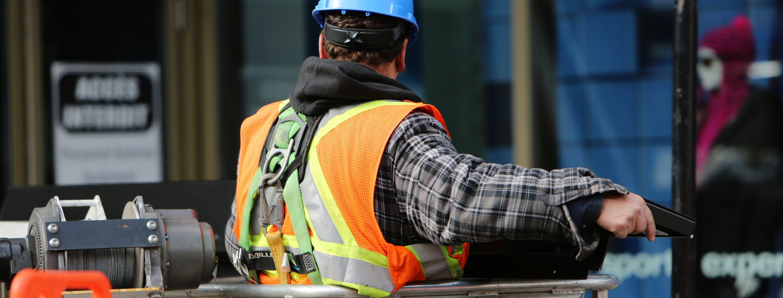 Operaio, costruzioni, industria, economia, edilizia