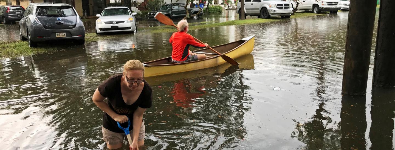 Uragano Barry, New Orleans, Usa