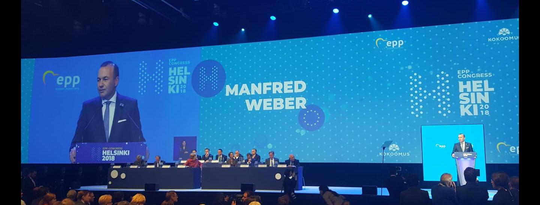 Manfred Weber Spitzenkandidat