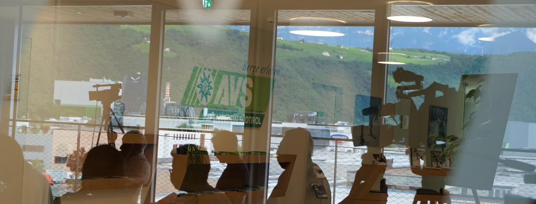 Medienkonferenz Flughafen ANAC