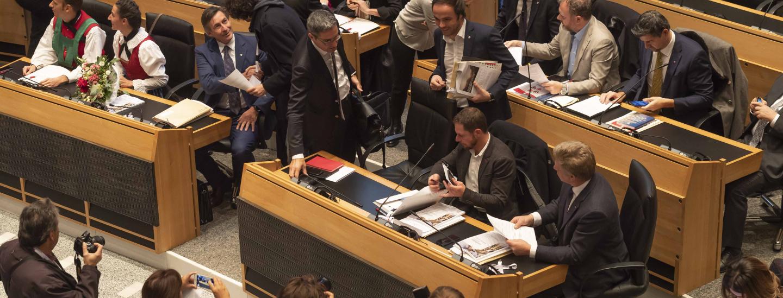 Landtagssitzung November
