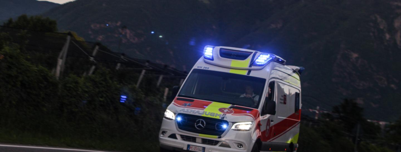 Croce bianca, ambulanza, Weisses Kreuz