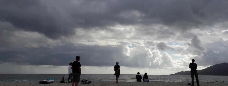 Wolken am Himmel