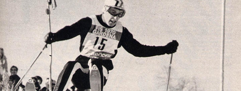 Gustav Thöni 1970 Ski-WM Gröden