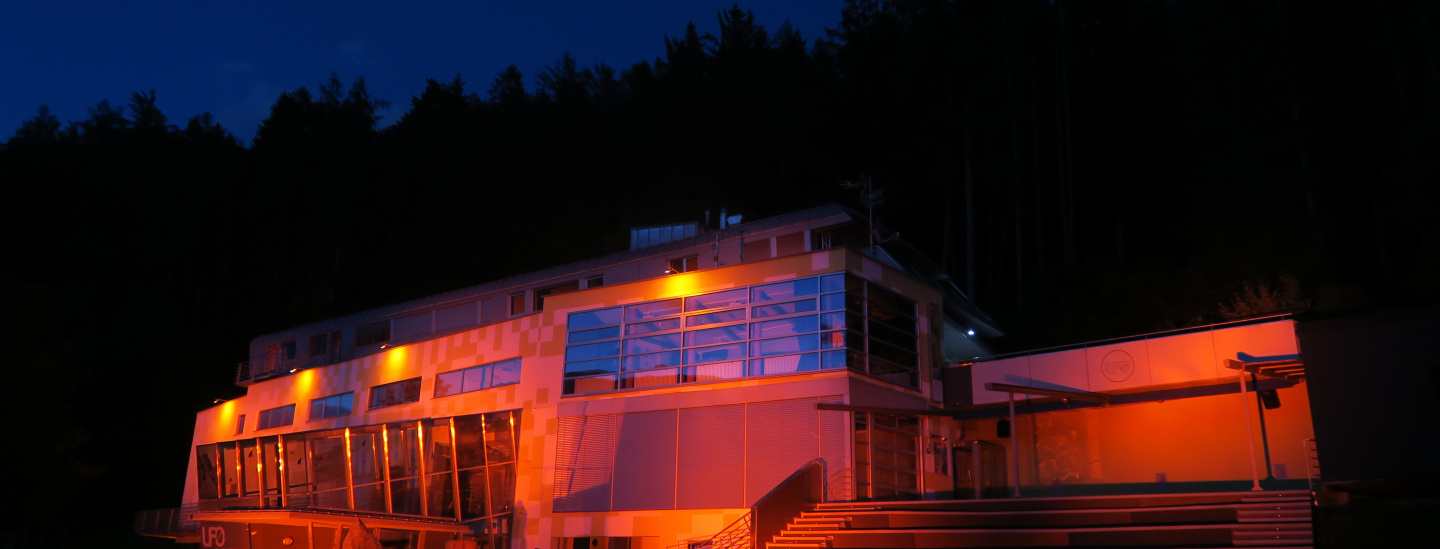 Night of Light: Jugend- und Kulturzentrum UFO Bruneck