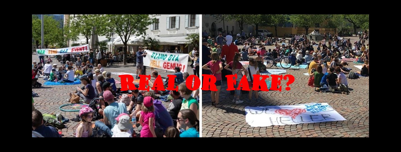 Flashmob Brixen 1. Juni