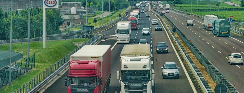 Camion, autostrada, trasporti