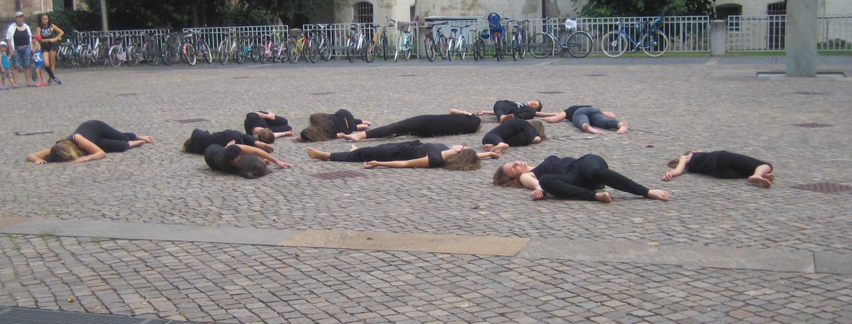 Flashmob Caritas