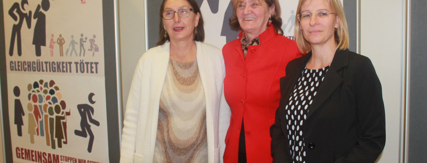 Christine Baur, Martha Stocker, Sara Ferrari