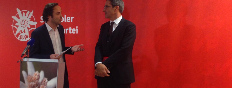 Philipp Achammer, Arno Kompatscher