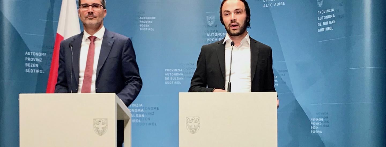 Arno Kompatscher & Phlipp Achammer
