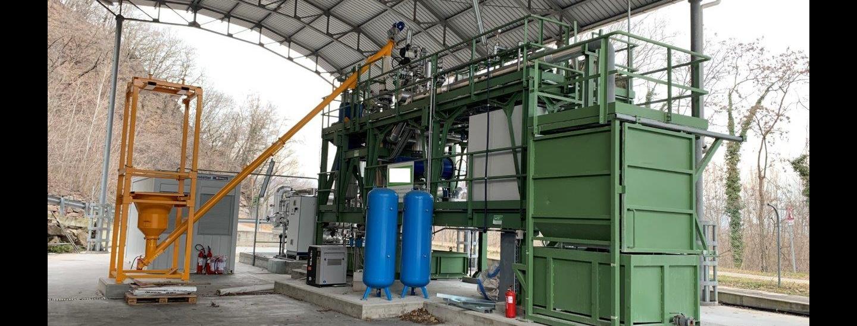 impianto carbonizzazione idrotermale, Vadena, Eco-center