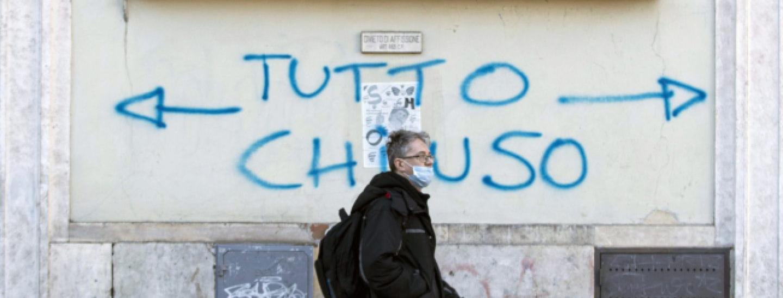 Shutdown Italien