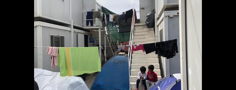 Moria auf Lesbos