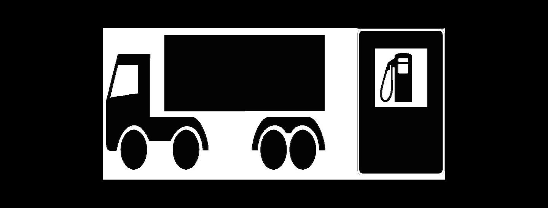 Lkw und Tanken