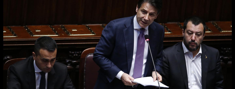 Di Maio, Conte, Salvini
