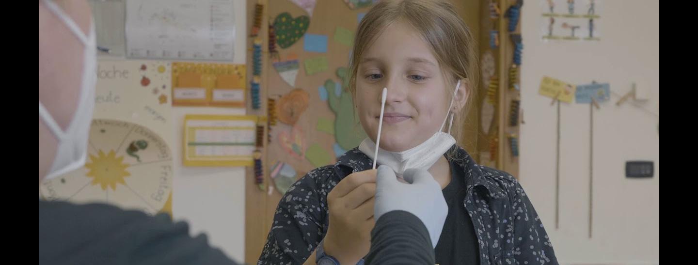 Test nasale a scuola