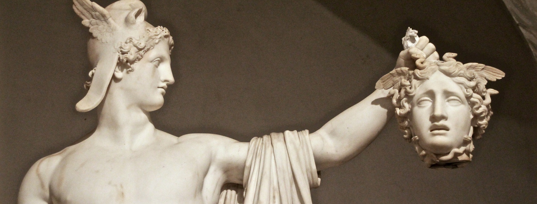 Medusa-Perseus im Vatikan-Museum