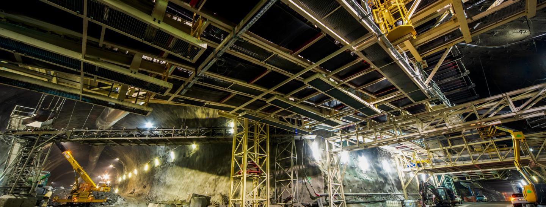 Bauarbeiten des Brennerbasistunnels