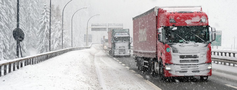 A22, Autobrennero, nevicata