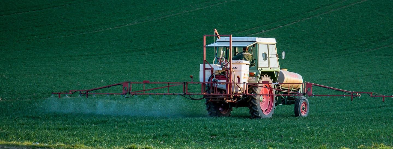Pestizidausbringung