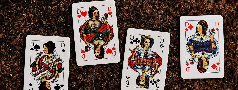 Dame Kartenspiel