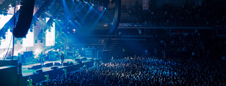 Un concerto a Bolzano prima delle restrizioni Covid-19