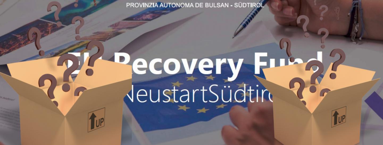EU Recovery Fund Südtirol: cosa prevedono i progetti?