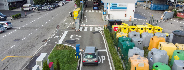 recyclinghof centro di riciclaggio Bressanone