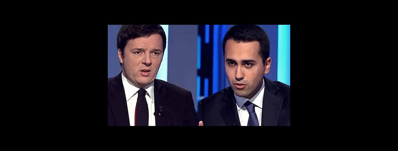 Renzi, Di Maio