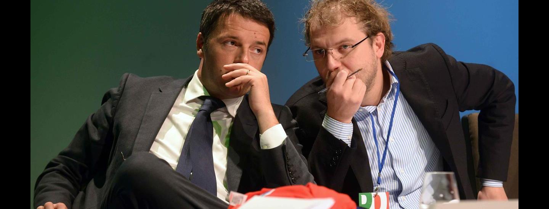 Matteo Renzi & Luca Lotti
